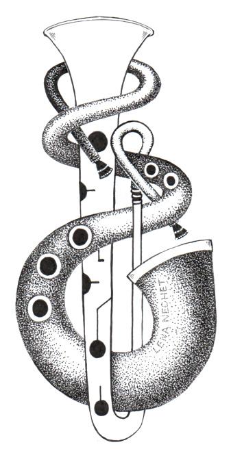 ophicleide serpent illustration lena nechet